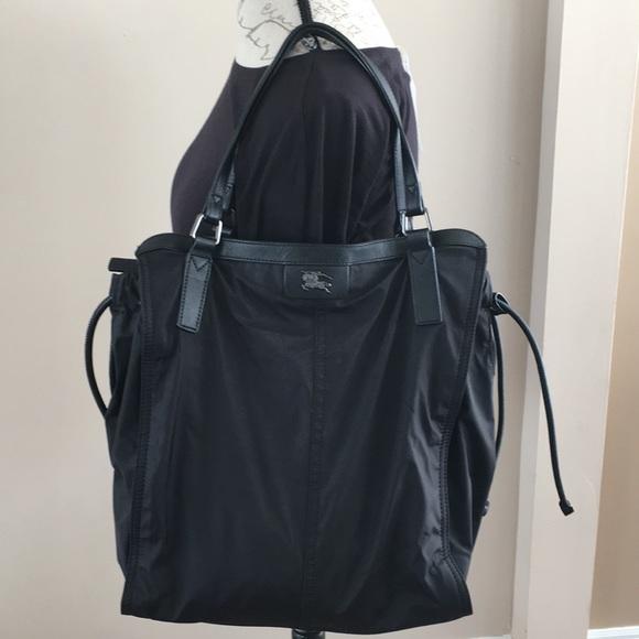 219d2a4f8136 Burberry Handbags - AUTHENTIC BURBERRY BLACK NYLON TOTE